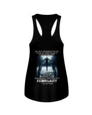DEVIL WHISPERED - FEBRUARY Ladies Flowy Tank thumbnail