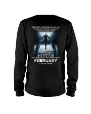 DEVIL WHISPERED - FEBRUARY Long Sleeve Tee thumbnail