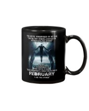DEVIL WHISPERED - FEBRUARY Mug thumbnail