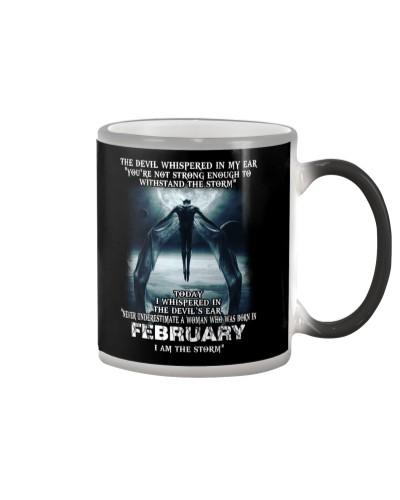 DEVIL WHISPERED - FEBRUARY