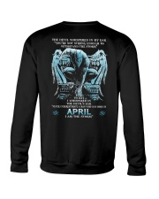 DEVIL WHISPERED - APRIL MAN Crewneck Sweatshirt thumbnail