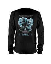 DEVIL WHISPERED - APRIL MAN Long Sleeve Tee thumbnail