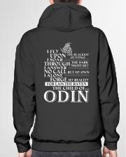 VIKINGS VALHALLA - CHILDREN OF ODIN Hooded Sweatshirt garment-hooded-sweatshirt-back-04