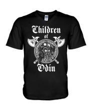 VIKINGS VALHALLA - CHILDREN OF ODIN V-Neck T-Shirt thumbnail