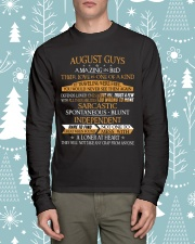 AUGUST GUYS AMAZING IN BED Long Sleeve Tee lifestyle-holiday-longsleeves-front-1