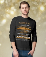 AUGUST GUYS AMAZING IN BED Long Sleeve Tee lifestyle-holiday-longsleeves-front-3