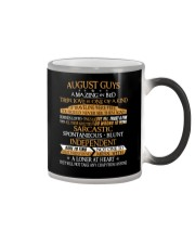AUGUST GUYS AMAZING IN BED Color Changing Mug thumbnail