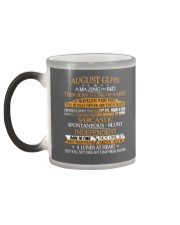 AUGUST GUYS AMAZING IN BED Color Changing Mug color-changing-left