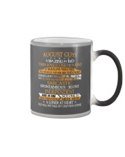 AUGUST GUYS AMAZING IN BED Color Changing Mug color-changing-right