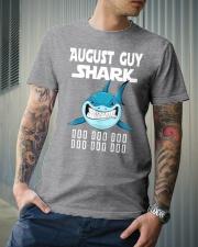 AUGUST GUY SHARK DOO DOO DOO Classic T-Shirt lifestyle-mens-crewneck-front-6