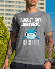 AUGUST GUY SHARK DOO DOO DOO Classic T-Shirt lifestyle-mens-crewneck-front-8