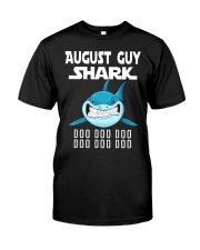 AUGUST GUY SHARK DOO DOO DOO Classic T-Shirt tile