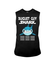 AUGUST GUY SHARK DOO DOO DOO Sleeveless Tee tile