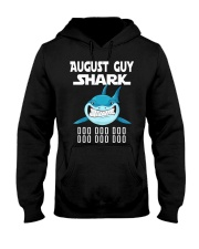 AUGUST GUY SHARK DOO DOO DOO Hooded Sweatshirt thumbnail
