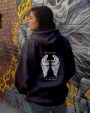 MY HUSBAND IS MY GUARDIAN ANGEL Hooded Sweatshirt lifestyle-unisex-hoodie-back-1