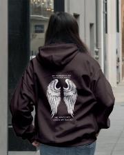 MY HUSBAND IS MY GUARDIAN ANGEL Hooded Sweatshirt lifestyle-unisex-hoodie-back-2