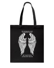 MY HUSBAND IS MY GUARDIAN ANGEL Tote Bag thumbnail