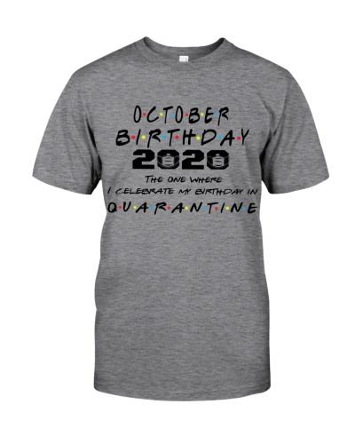 OCTOBER BIRTHDAY 2020 CELEBRATE IN QUARANTINE