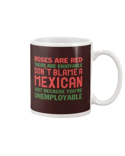 ROSES ARE RED - TACOS ARE ENJOYABLE