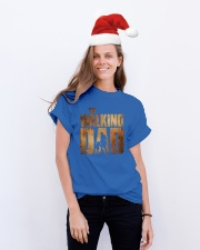 THE WALKING DAD Classic T-Shirt lifestyle-holiday-crewneck-front-1