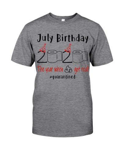 JULY BIRTHDAY 2020 THE YEAR WHEN SHIT GOT REAL
