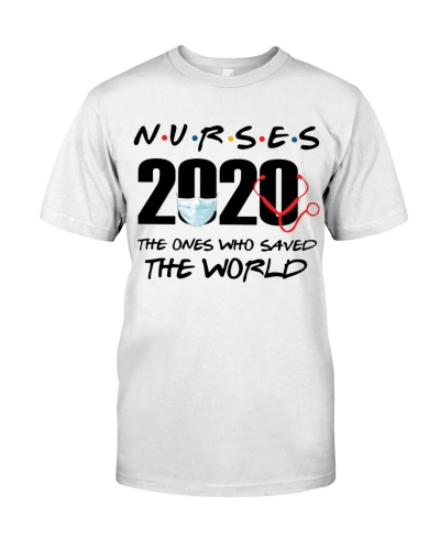 NURSES 2020 THE ONES WHO SAVED THE WORLD