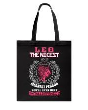 LEO ITALLDEPENDS Tote Bag thumbnail