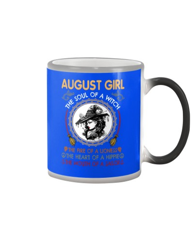 AUGUST GIRL THE SOUL OF A WITCH