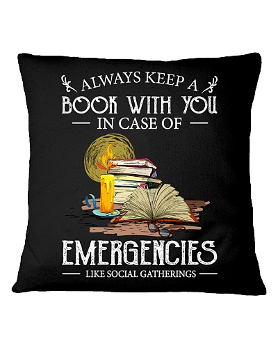ALWAYS KEEP A BOOK WITH YOU IN CASE