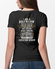 BIBLE VELIVIN - WARRIOR OF CHRIST Ladies T-Shirt lifestyle-women-crewneck-back-4