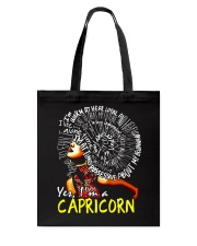 YES I AM A CAPRICORN Tote Bag tile