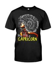 YES I AM A CAPRICORN Classic T-Shirt thumbnail