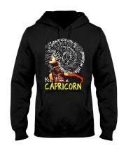 YES I AM A CAPRICORN Hooded Sweatshirt thumbnail