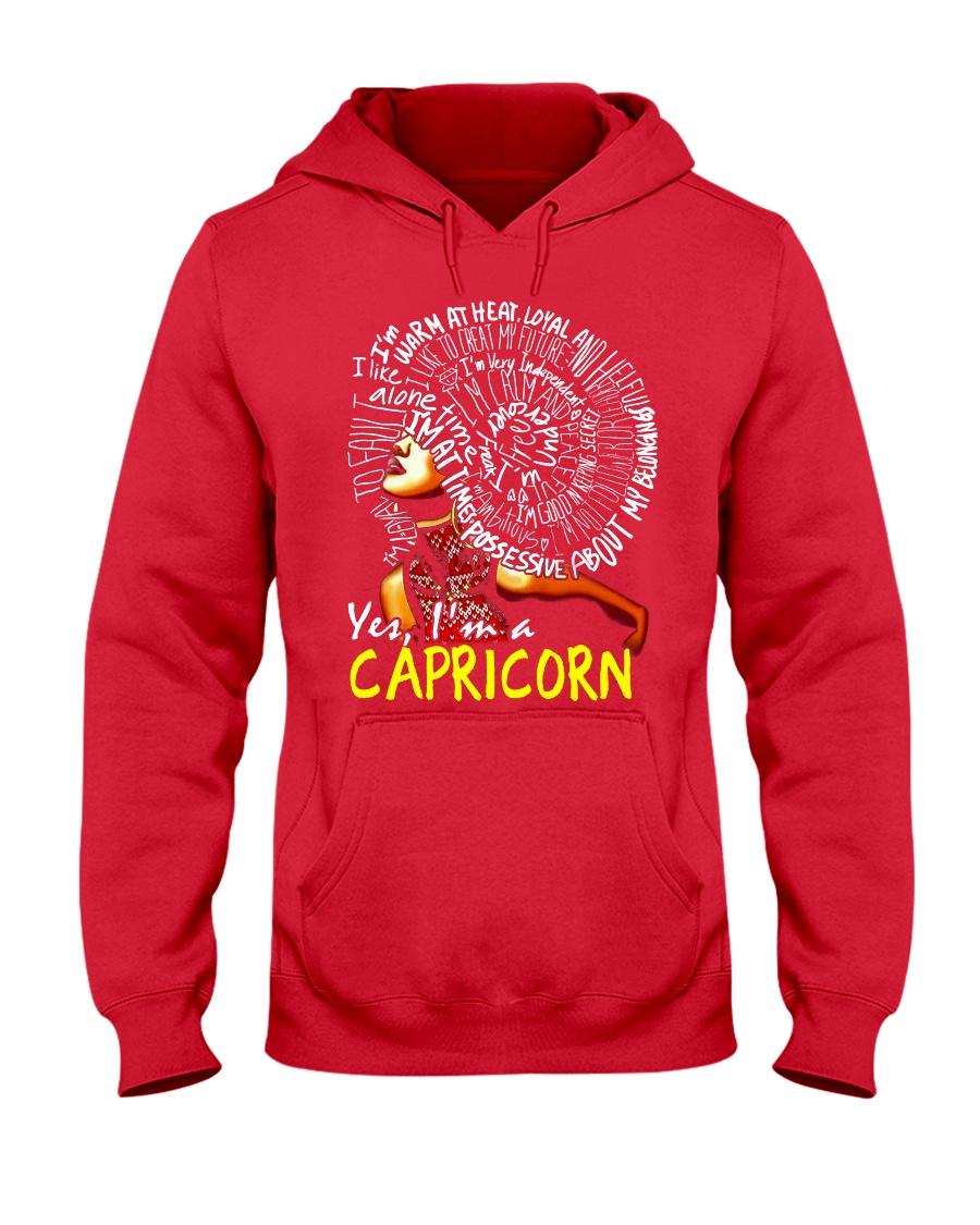 YES I AM A CAPRICORN Hooded Sweatshirt