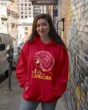 YES I AM A CAPRICORN Hooded Sweatshirt lifestyle-unisex-hoodie-front-1