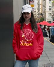 YES I AM A CAPRICORN Hooded Sweatshirt lifestyle-unisex-hoodie-front-5