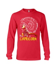 YES I AM A CAPRICORN Long Sleeve Tee front