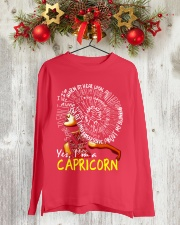 YES I AM A CAPRICORN Long Sleeve Tee lifestyle-holiday-longsleeves-front-2