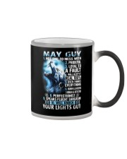 MAY GUY NOT ONE TO MESS WITH Color Changing Mug thumbnail