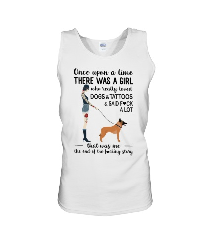 REALLY LOVED DOGS AND TATTOOS - BELGIAN SHEPHERD