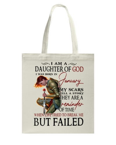 I AM A DAUGHTER OF GOD I WAS BORN IN JANUARY