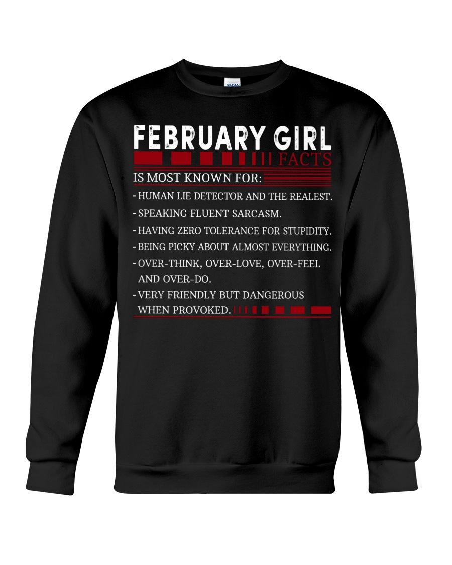 FEBRUARY GIRL FACTS Crewneck Sweatshirt