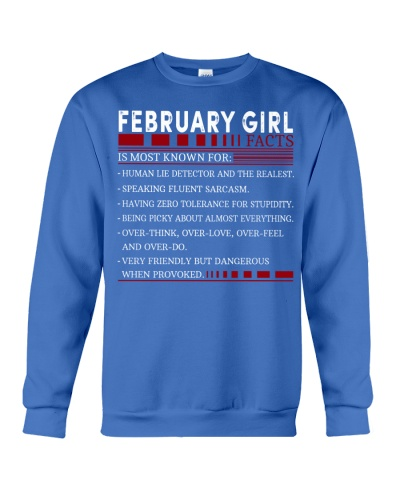 FEBRUARY GIRL FACTS