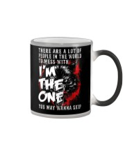 WOLVES - DONT MESS WITH ME Color Changing Mug thumbnail