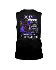 I WAS BORN IN JULY Sleeveless Tee thumbnail