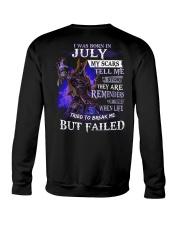 I WAS BORN IN JULY Crewneck Sweatshirt thumbnail