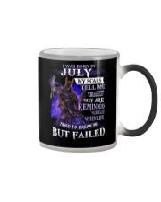 I WAS BORN IN JULY Color Changing Mug thumbnail