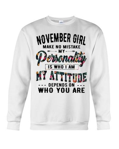NOVEMBER GIRL MAKE NO MISTAKE