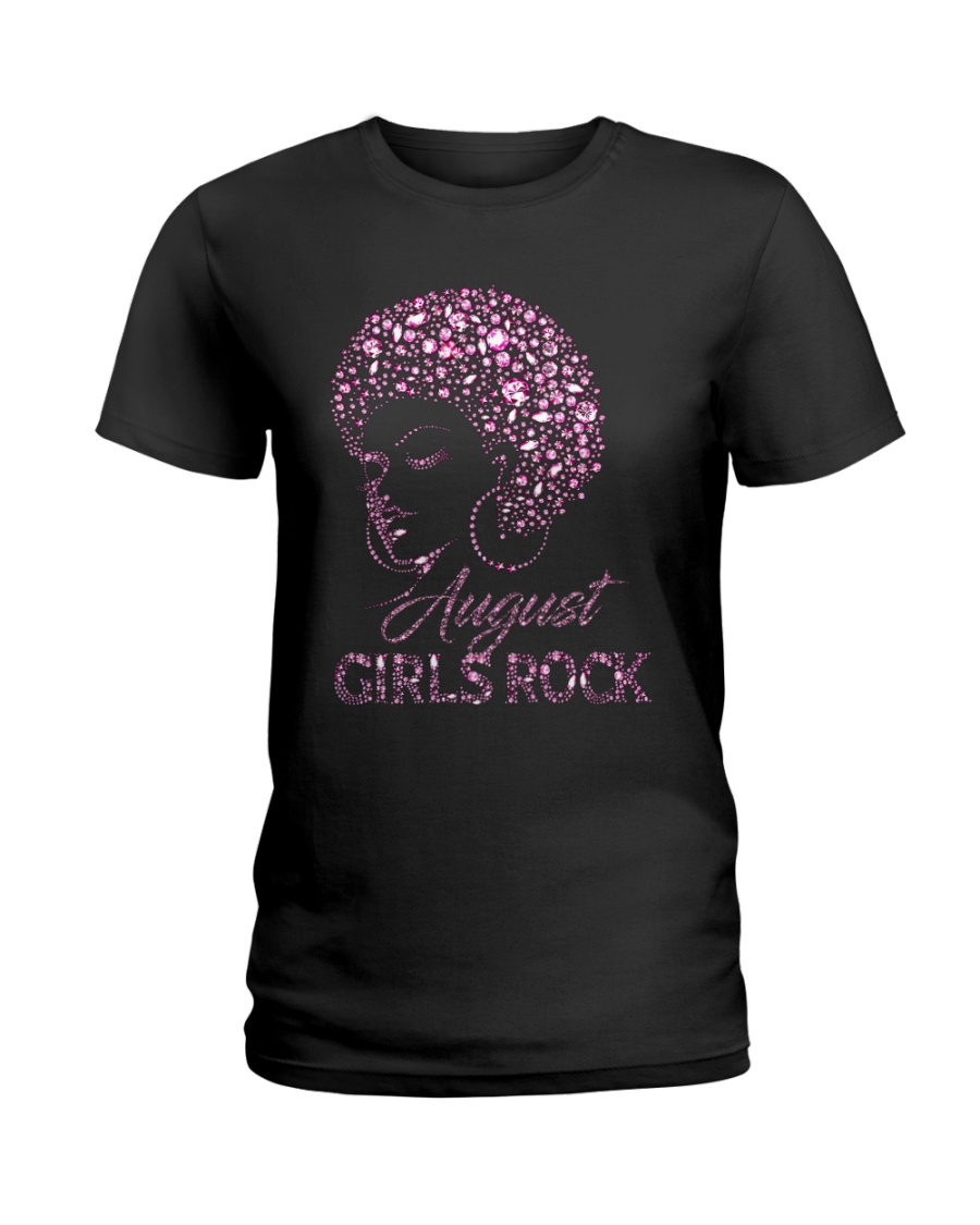 AUGUST GIRLS ROCK Ladies T-Shirt