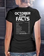 OCTOBER GIRL FACTS Ladies T-Shirt lifestyle-women-crewneck-back-3
